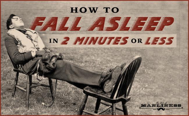 如何用2分钟或更少时间进入睡眠