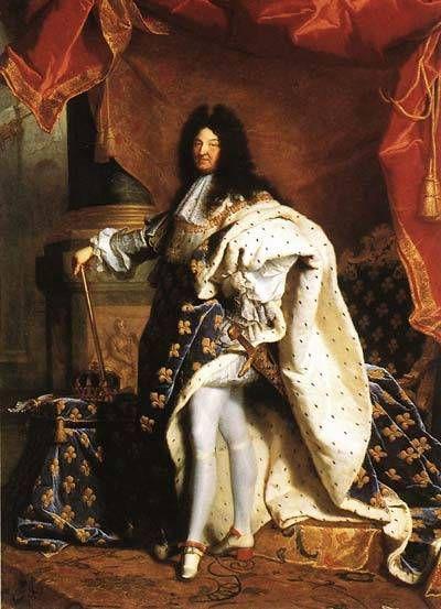 路易十四时代袖扣成为抢眼配饰