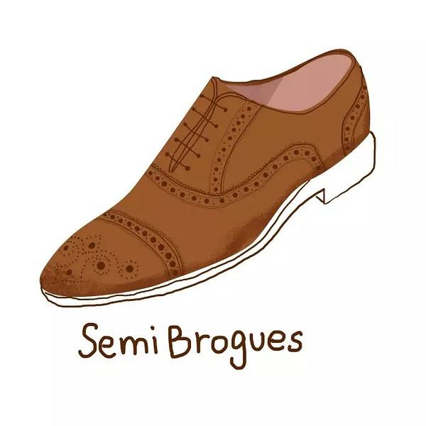Semi Brogue