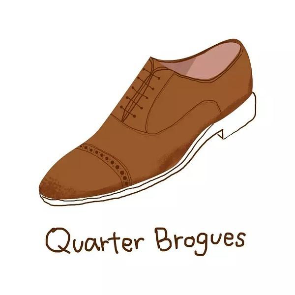 Quarter Brogue