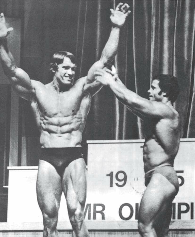 """1975年的""""奥林匹亚先生""""赛,我和弗朗哥·哥伦布"""