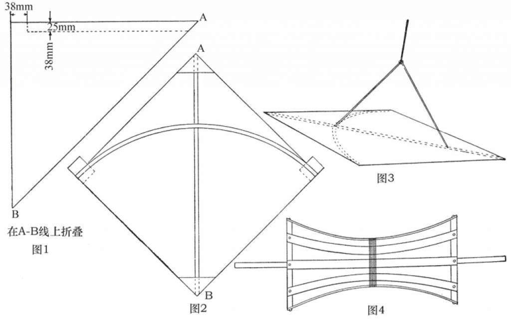 中国式风筝部件