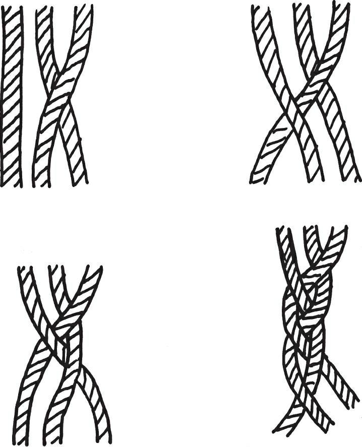 三股线编织