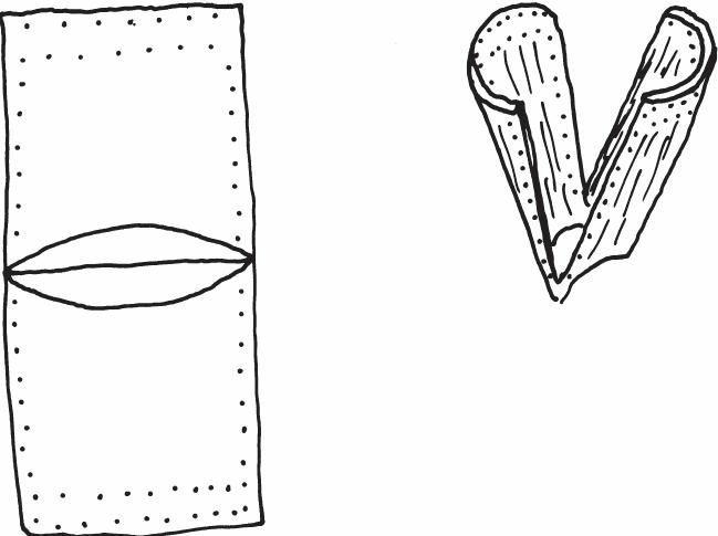 桦树皮容器