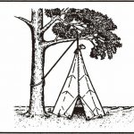 无杆降落伞锥形帐篷