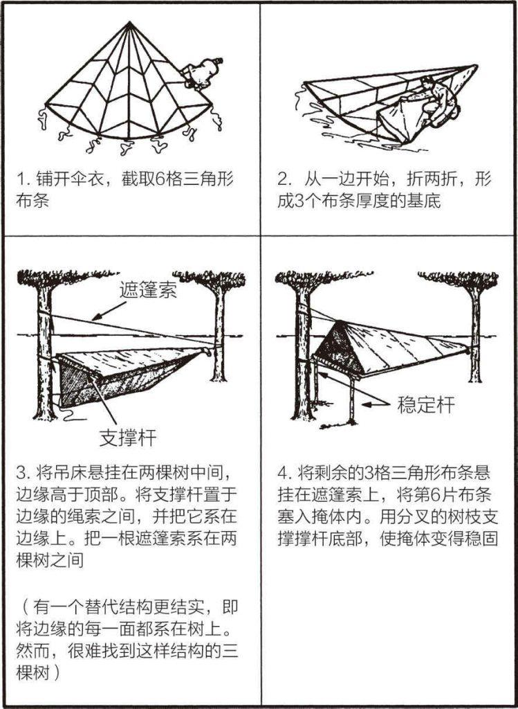 降落伞吊床