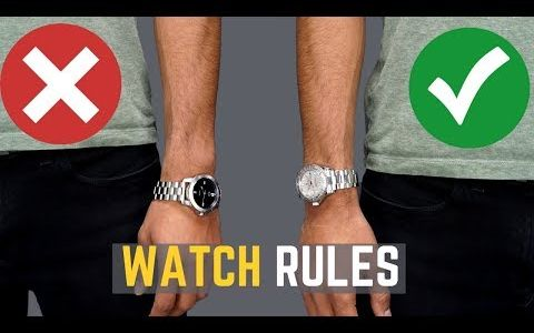 关于手表你不知道的5个佩戴误区
