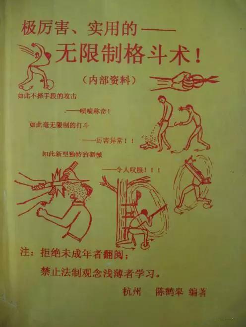陈鹤皋——无限制格斗术