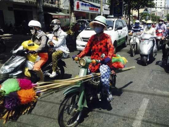 越南街头摩托