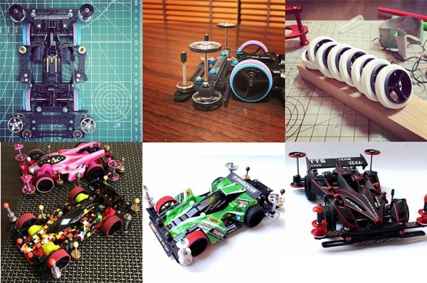 车轮——如何DIY出外表高逼格的迷你四驱车?