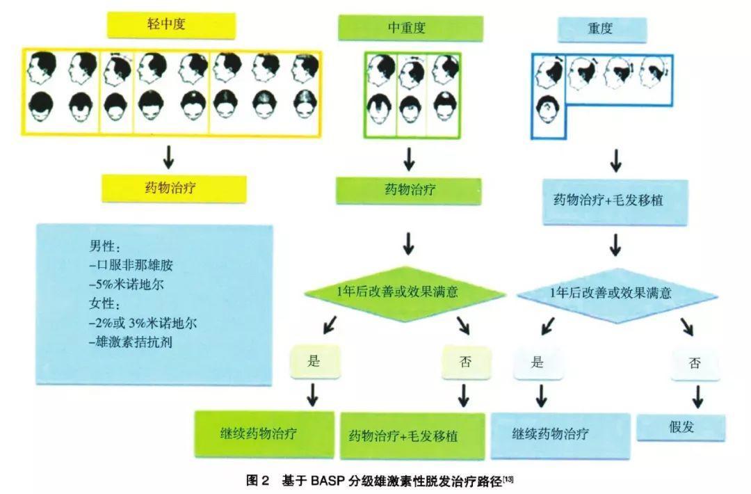 「雄激素性脱发」治疗路径