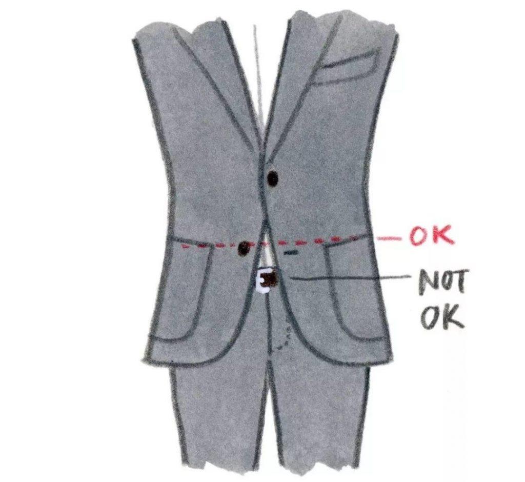 不要选择裤腰太低的裤子