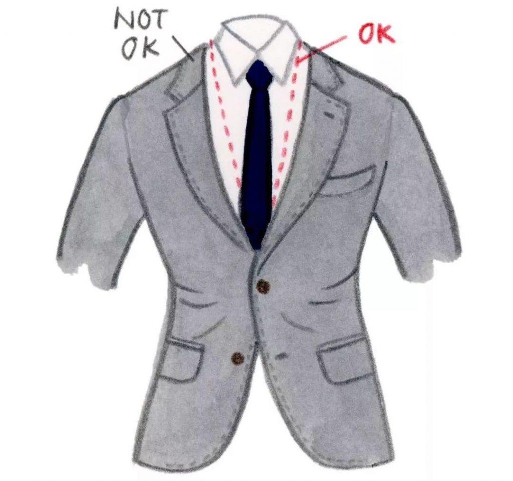 不要穿太紧的西装
