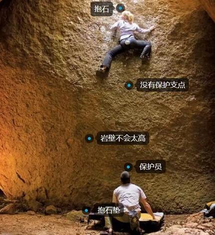 抱石 bouldering