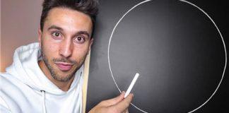 如何徒手画出一个完美的圆